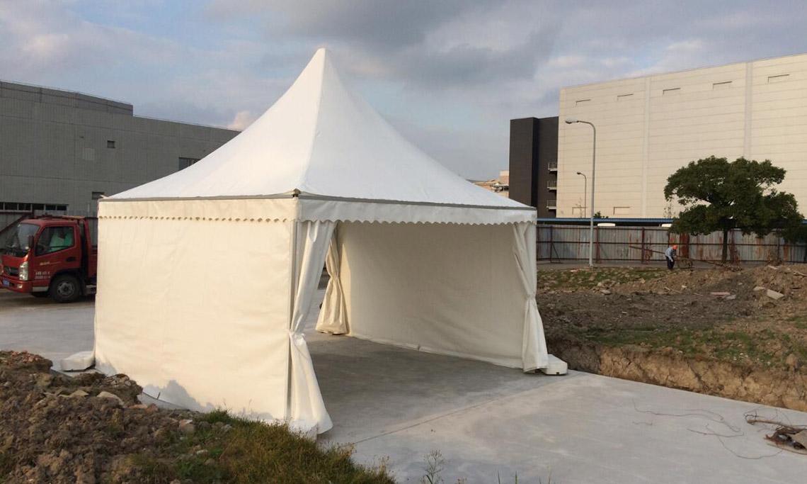 尖顶型篷房