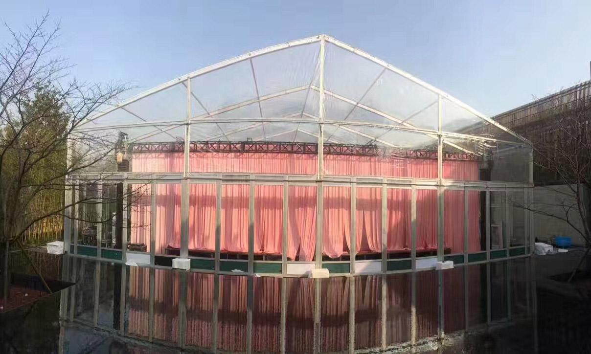 玻璃墙篷房